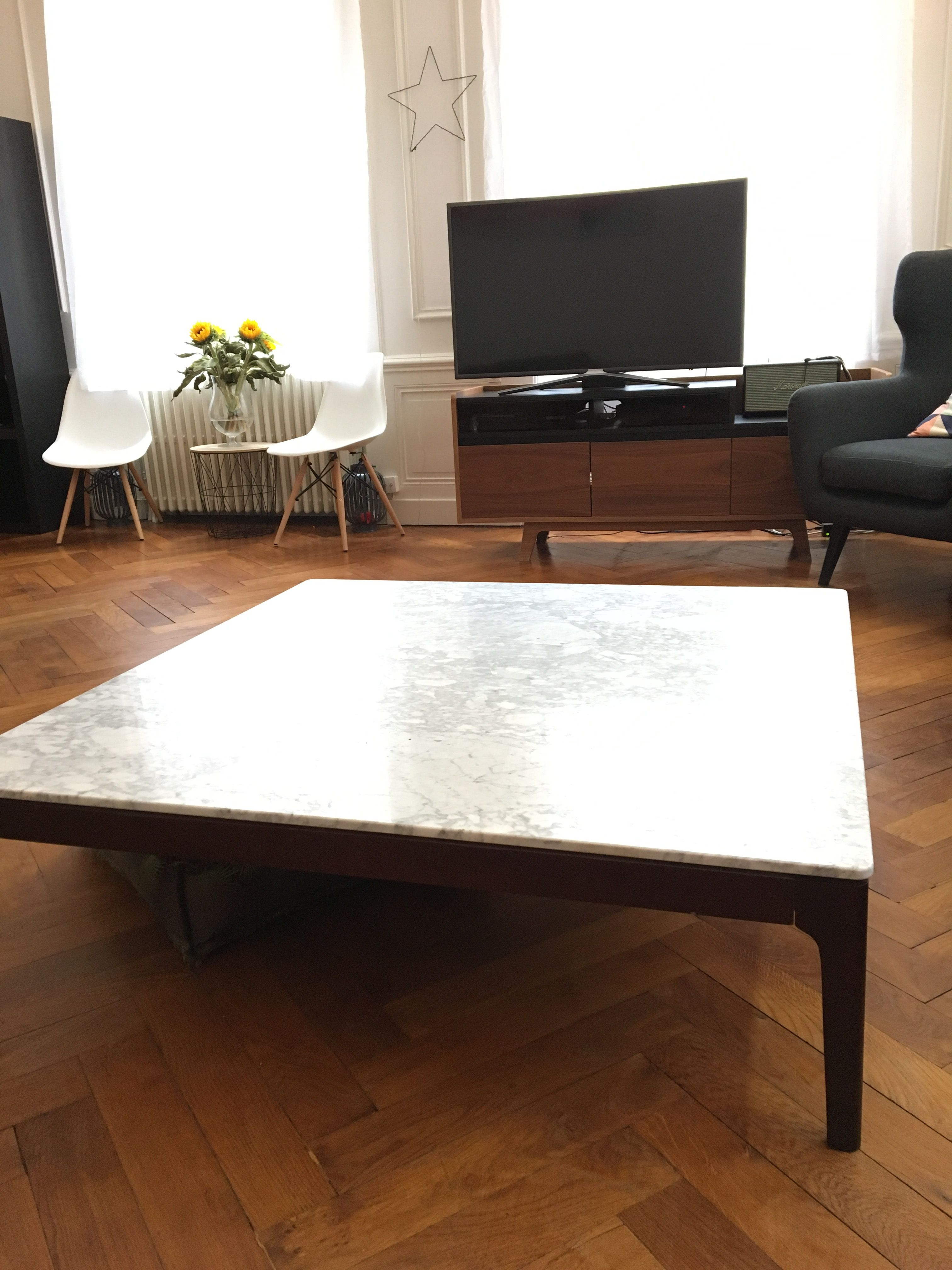 Table Am Pm La Redoute Ampm Table Basse Bois Marbre With Images Coffee Table Home Decor Furniture