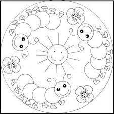 Resultado De Imagen Para Mandalas Para Niños De 3 A 6 Años