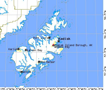 Kodiak Island Alaska Map.Kodiak With Latitude And Longitude Favorite Places Spaces