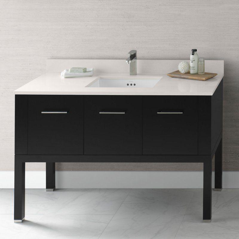 Photo Of Single Bathroom Vanity Set with in Top Biscuit