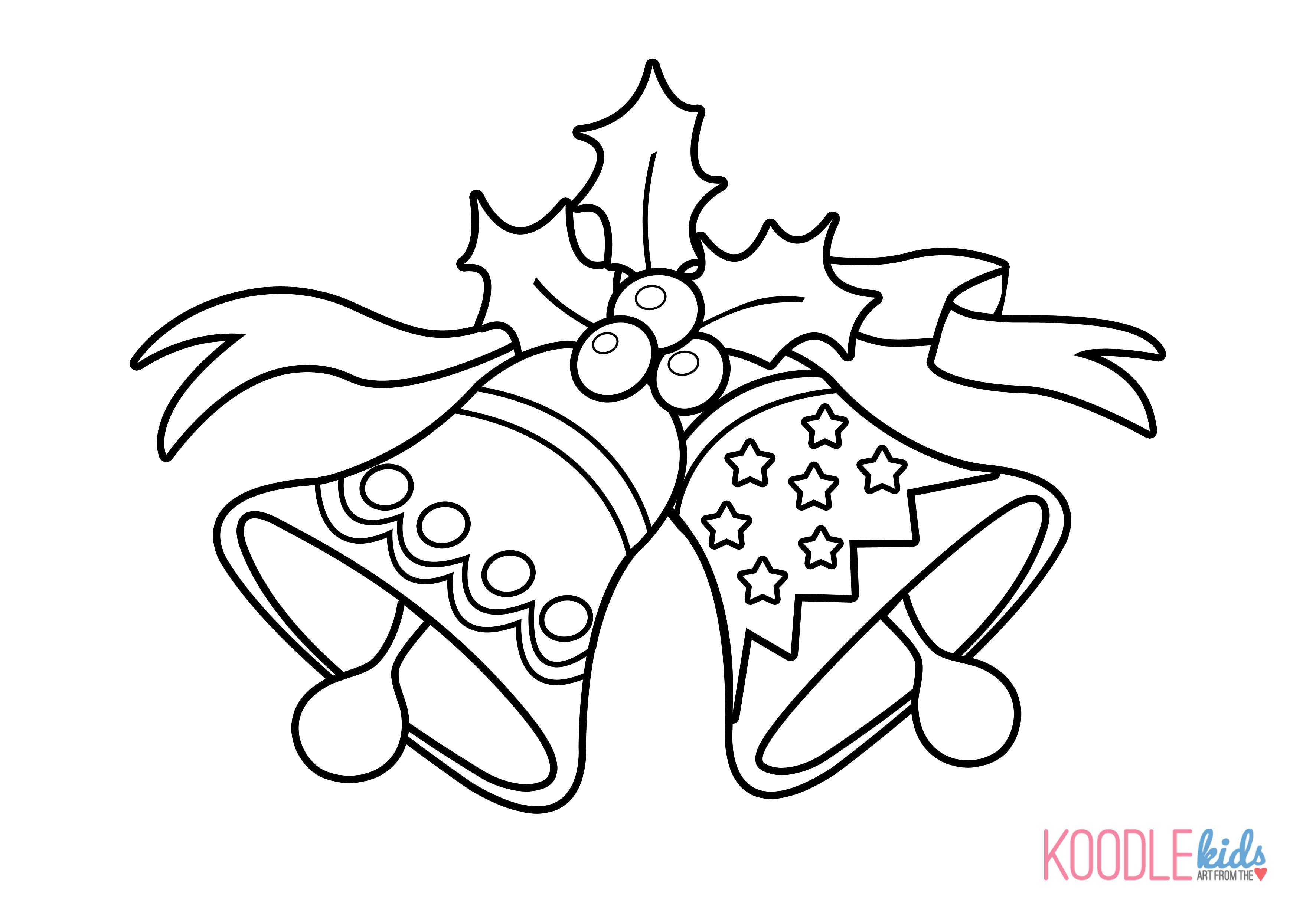 images of coloring pages of bells  Google Search  Coloring