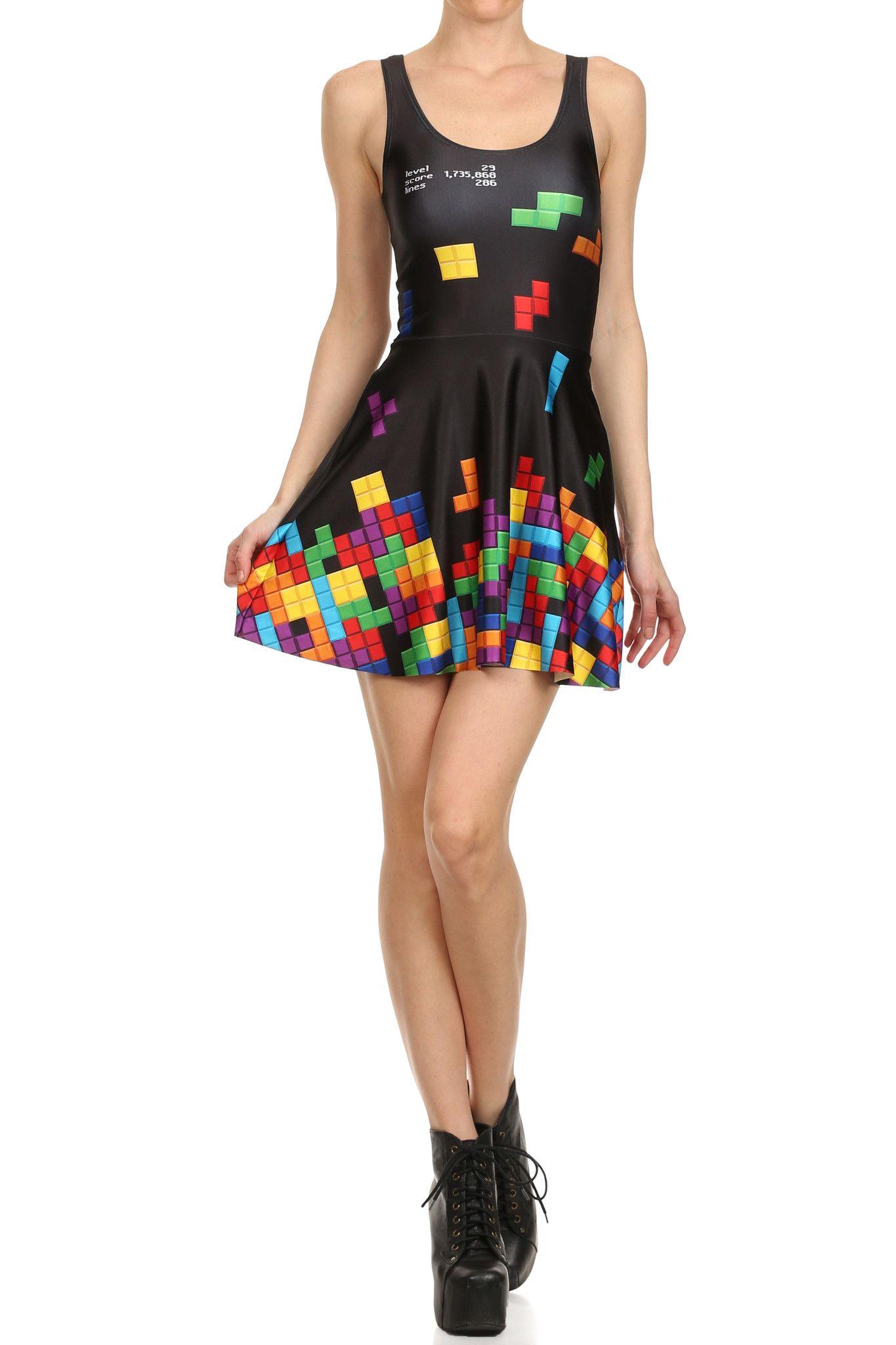 tetris skater dress - Tetris Planken