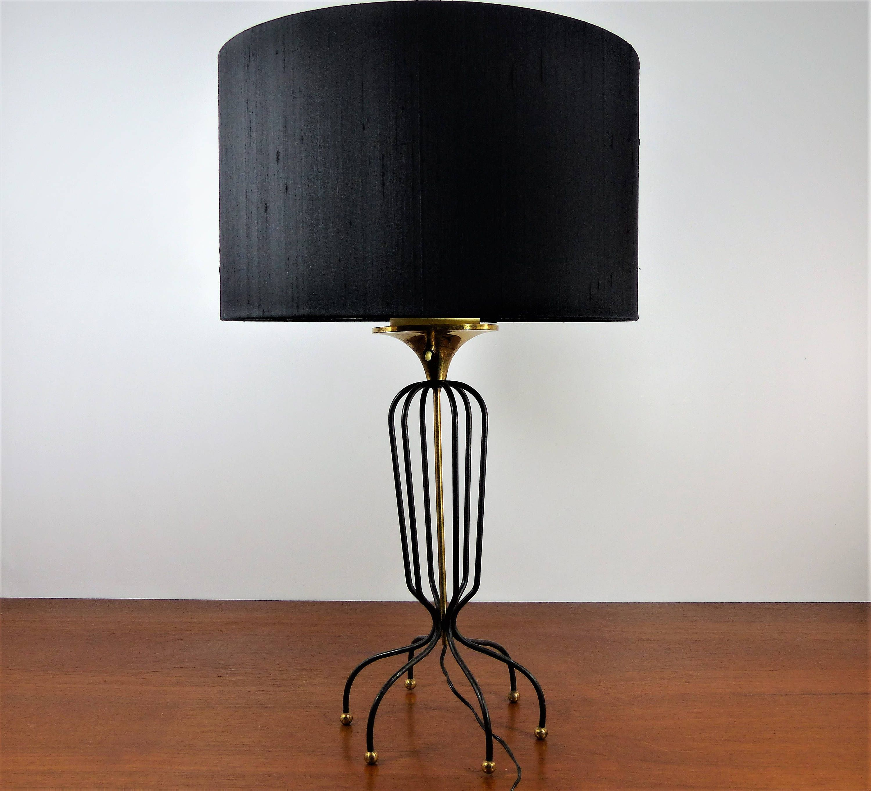Table lamp 1950 - Table lamp Jean Royère Style | Elegant table, Lamp ...