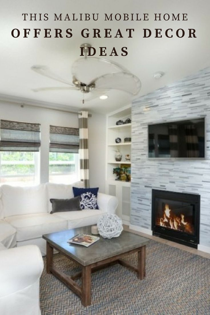 Mobile Home Decorating Ideas For Every Room In The House   Mobile home living, Mobile home ...