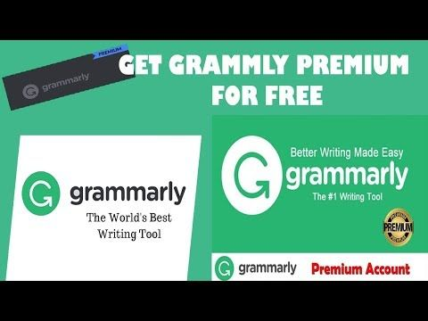 How To Get Grammarly Premium For Free Can Be Fun For Everyone