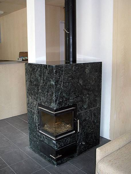 Pegnas Deplazes Surrein Freistehender Ofen Stove Fireplace