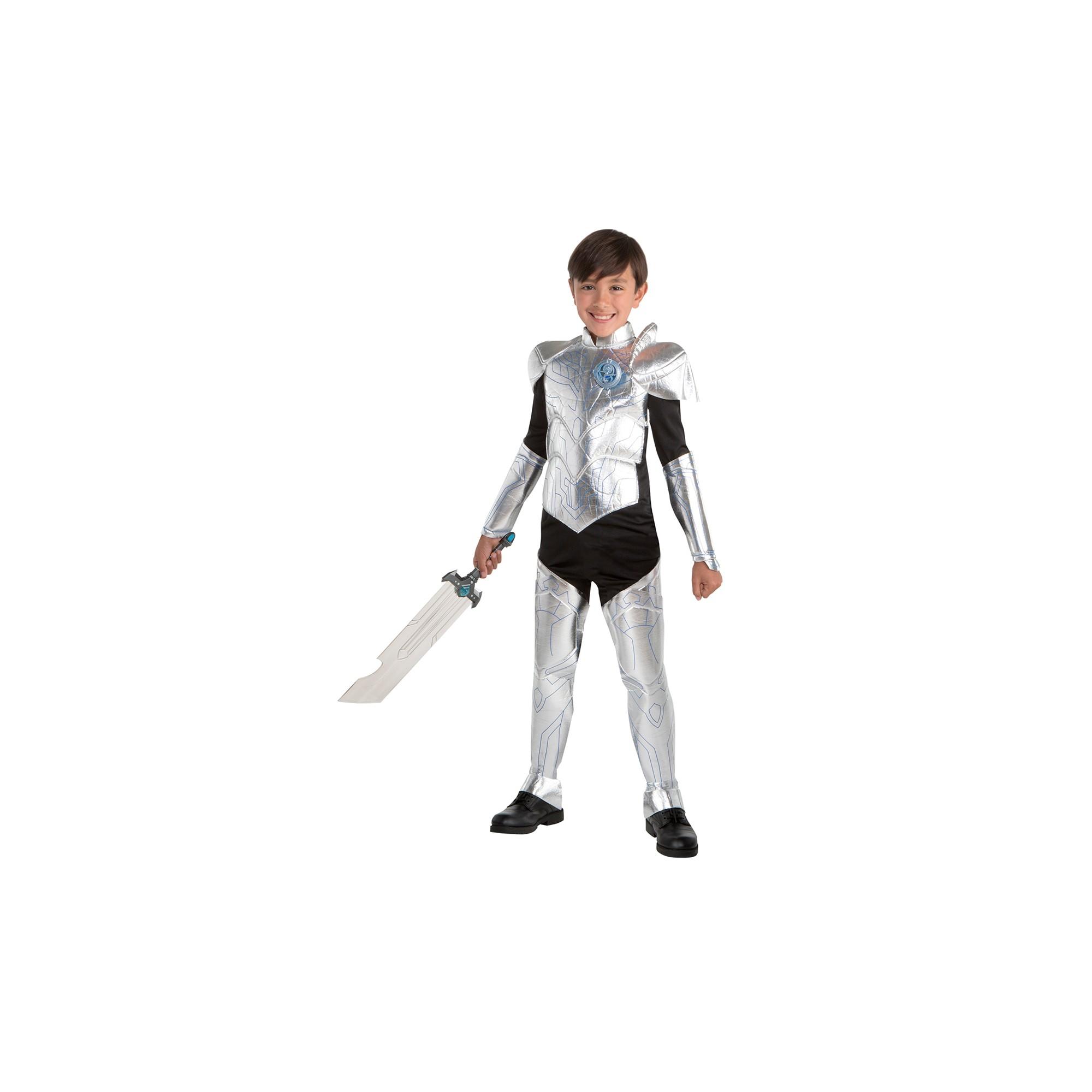 Kids' Trollhunters Jim Armor Halloween Costume S, Boy's