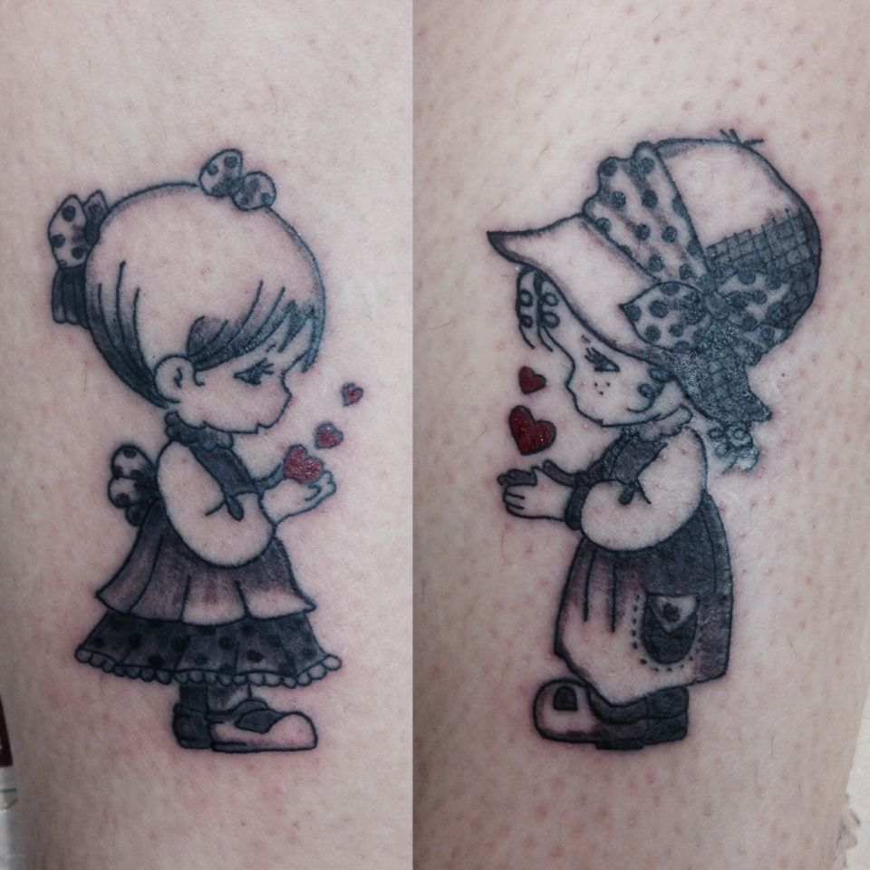 35 Tattoos That Give Us Hope For Mental Health Recovery: Holly Hobby Tattoo Sister Cartoon Vintage Vintage Print