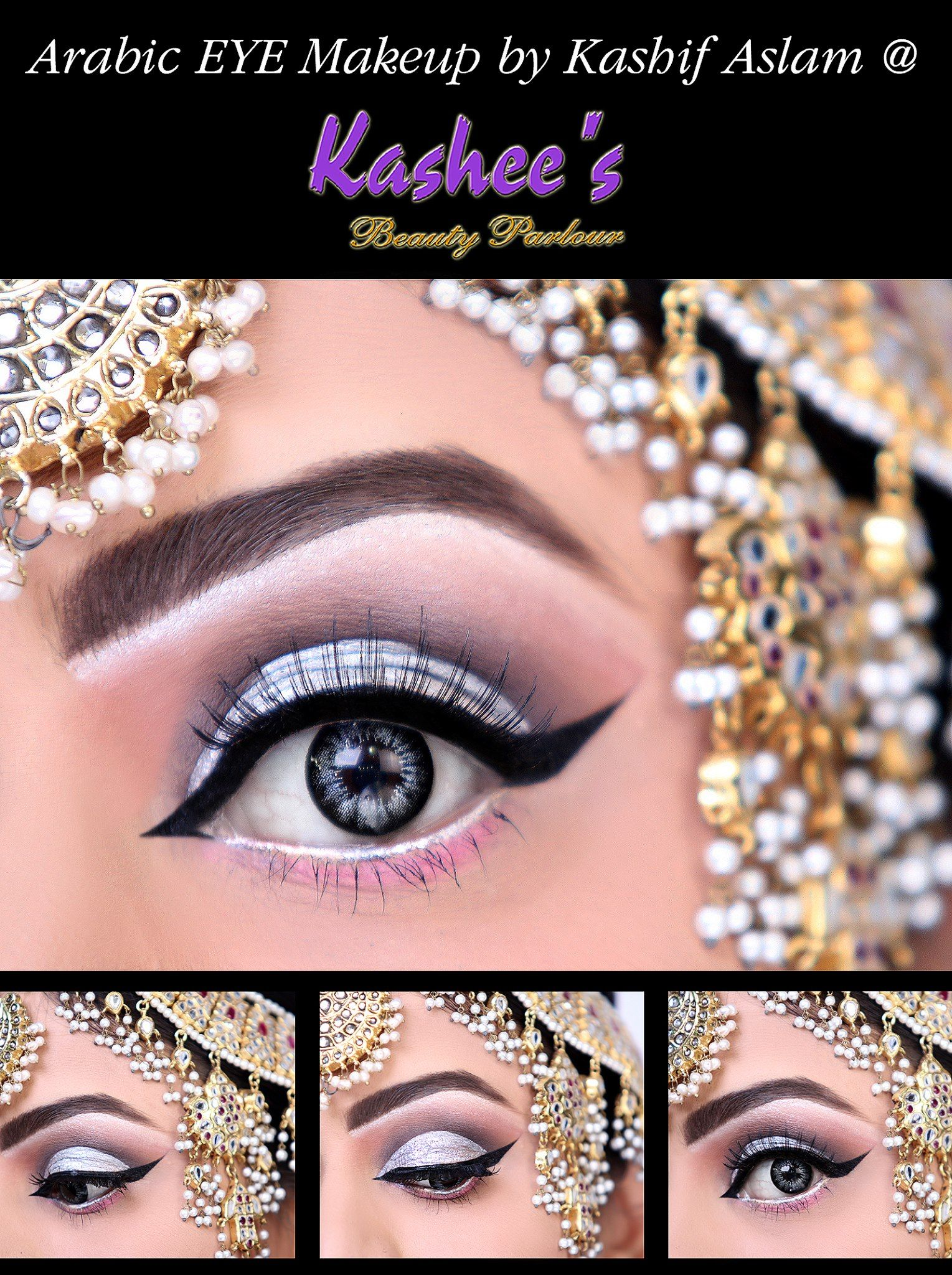 Arabic makeup as a way to emphasize its attractiveness and sexuality 70