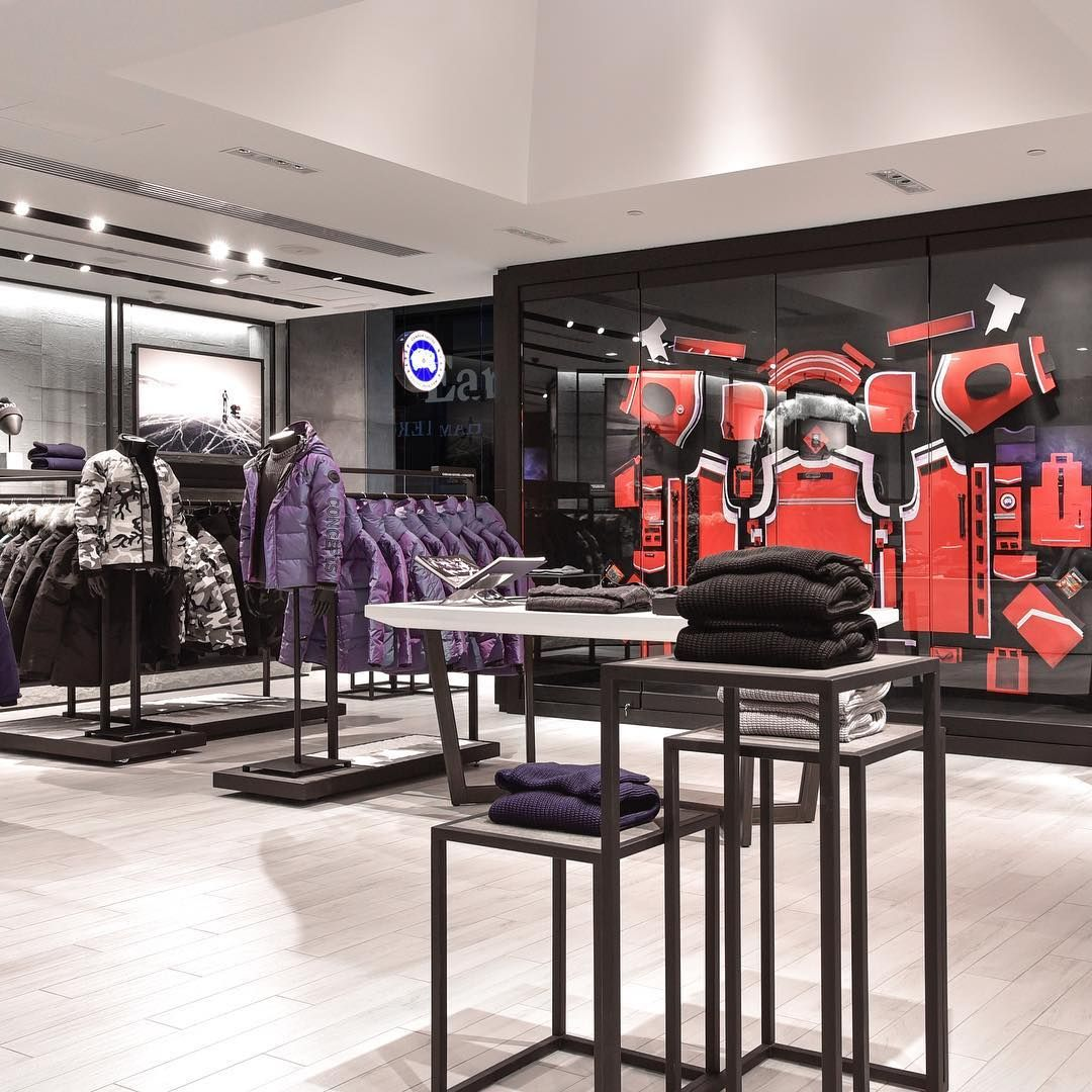Canada Goose Just Opened A New Flagship Store In China And People Waited Hours Just To Get In Narcity Canada Goose Store Canada Goose Canada