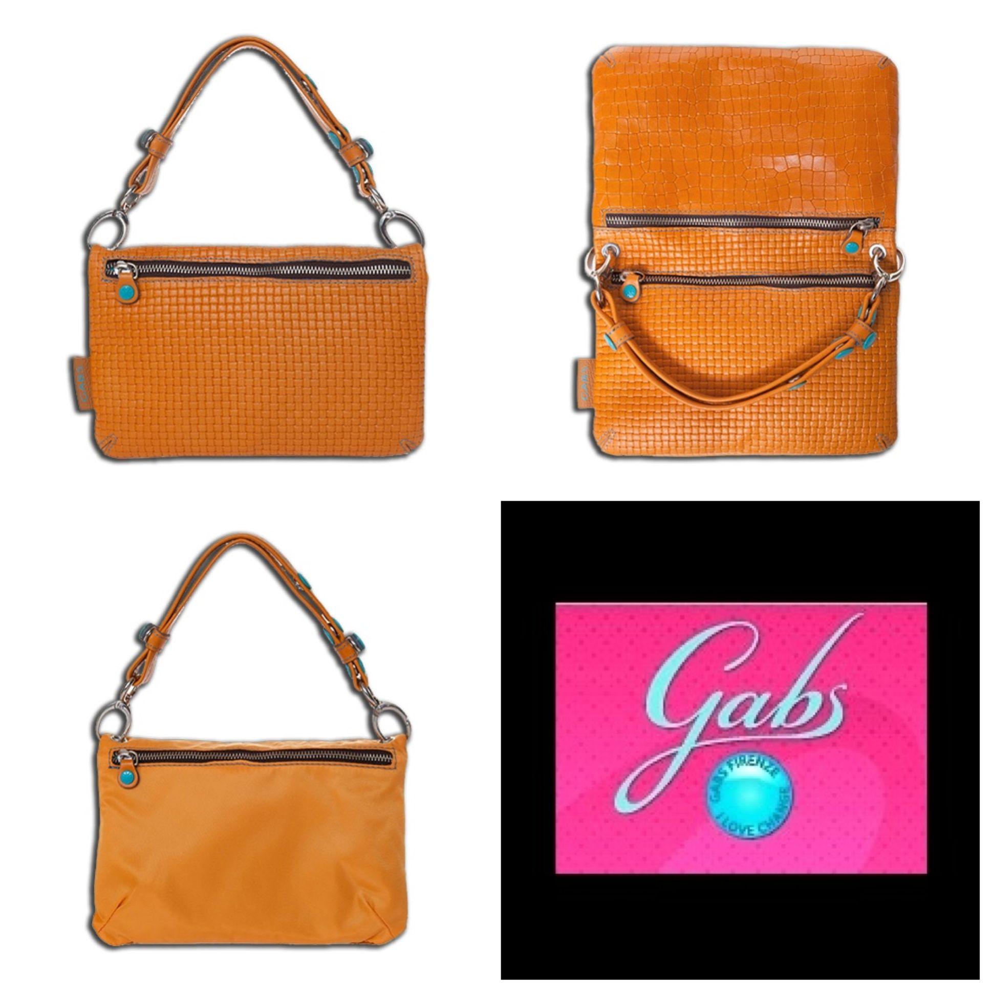 Gabsin sähäkän oranssi Bianca-laukku