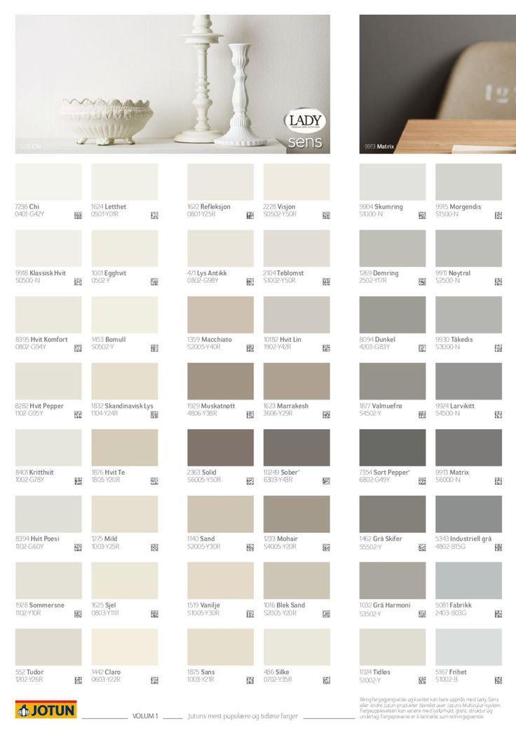 Jotun grey colours
