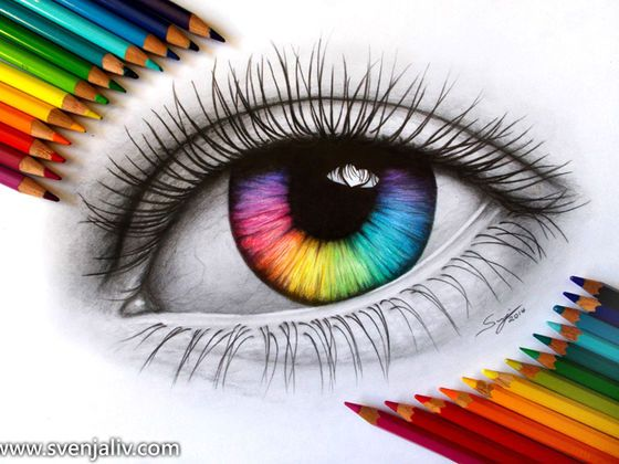 What Is Your True Eye Color Eye Art Eye Drawing Color Pencil Art