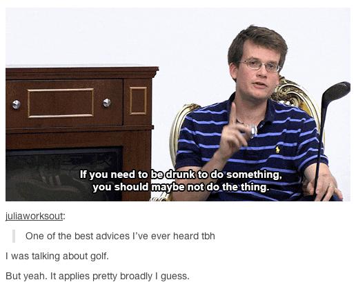 """But yeah, it applies pretty broadly, I guess."" Thanks, John."