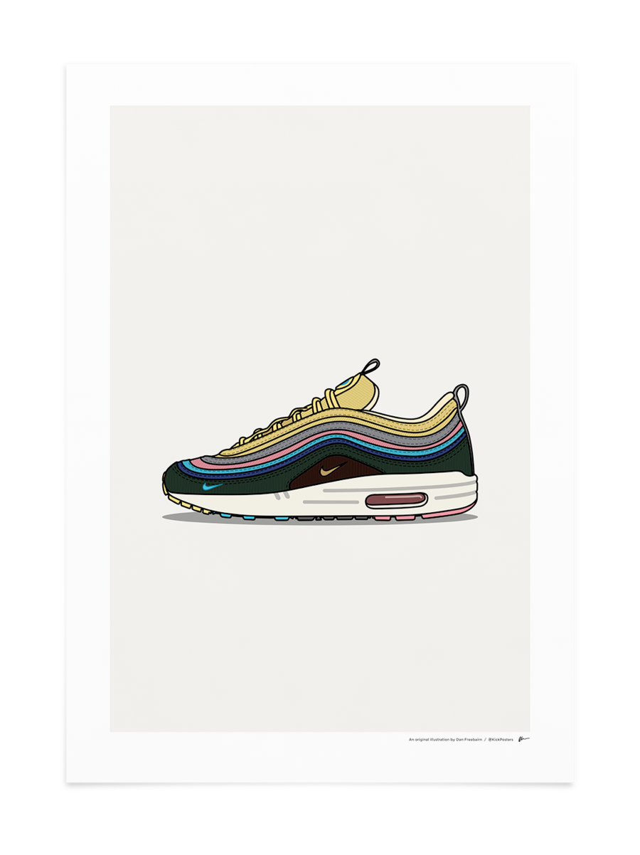 9c5623c917 Sean Wortherspoon 1/97 Poster KickPosters.com Sneakers Wallpaper, Shoes  Wallpaper, Sneaker