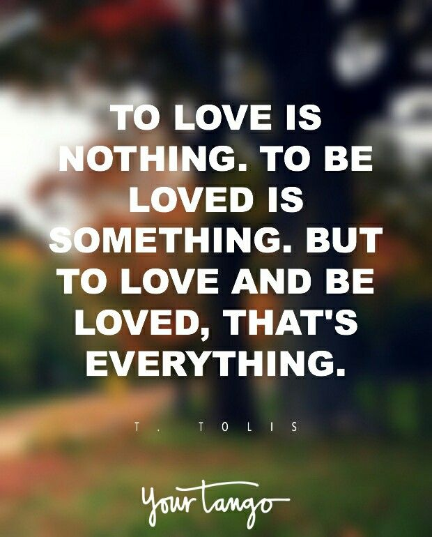 Love is nothing without you