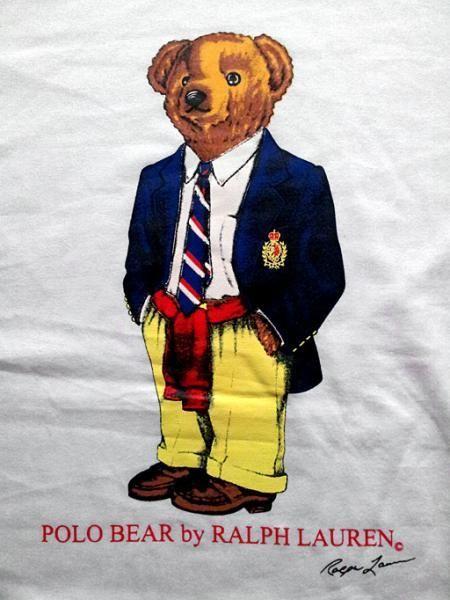 Ralph Lauren Polo Business Bear Round Neck T Shirt