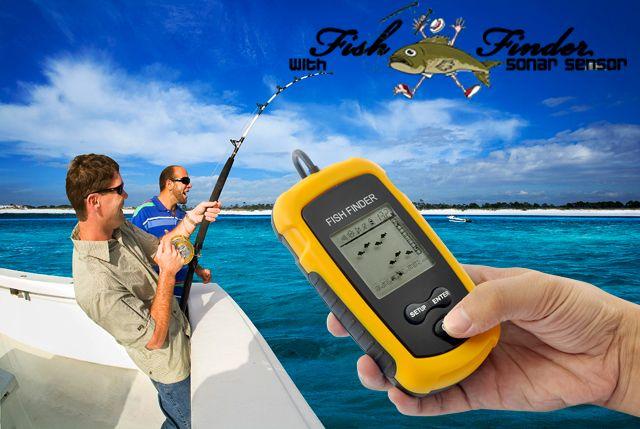 Ανιχνευτής Ψαριών Fish Finder - Fish Locator με αισθητήρα Sonar
