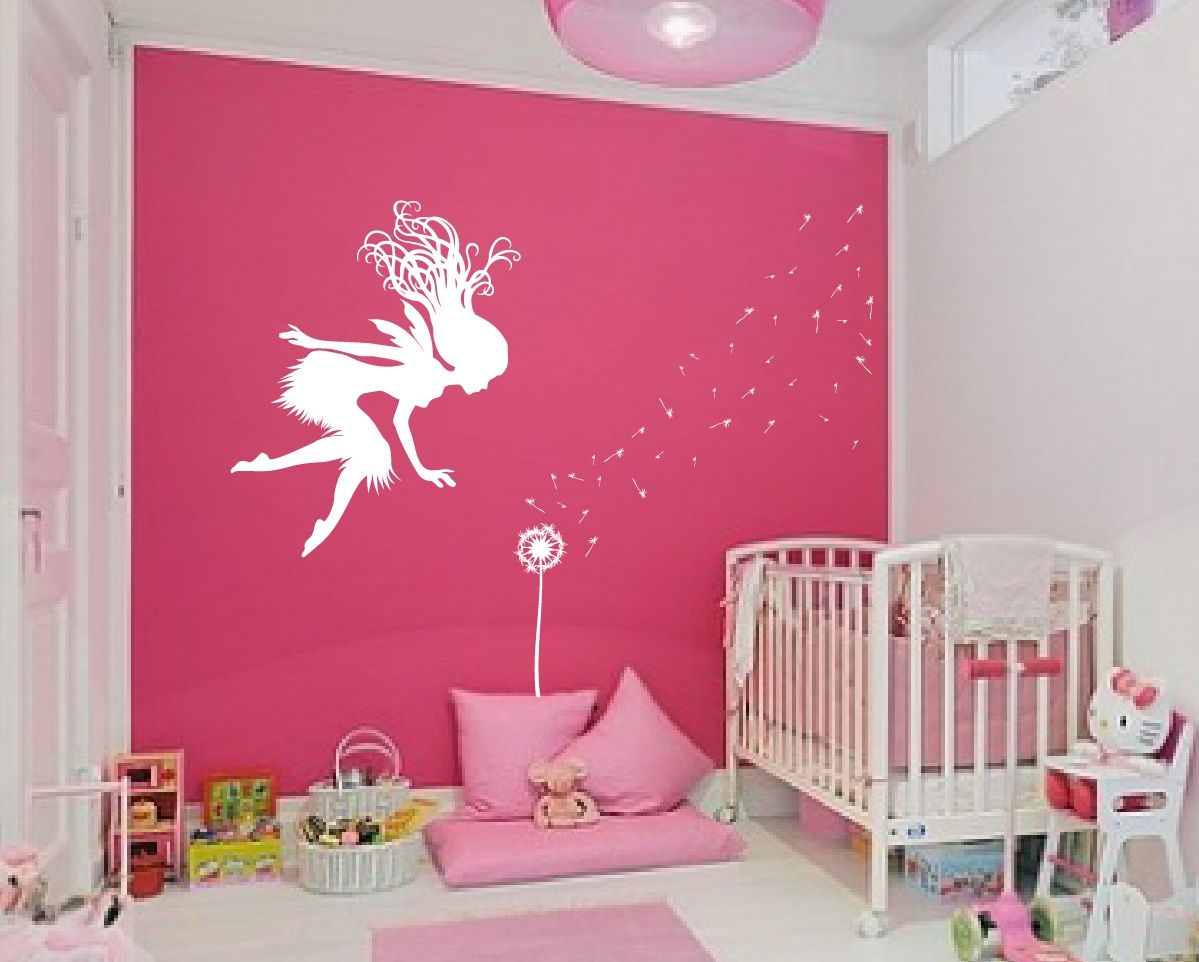 Butterfly Fairy With Butterfly Wand Vinyl Wall By WallCrafters | Aurora |  Pinterest | Wall Decals, Wand And Fairy
