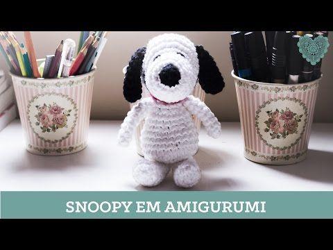 Amigurumi Tutorial Snoopy : Snoopy amigurumi tutorial youtube padrões de boneca grátis