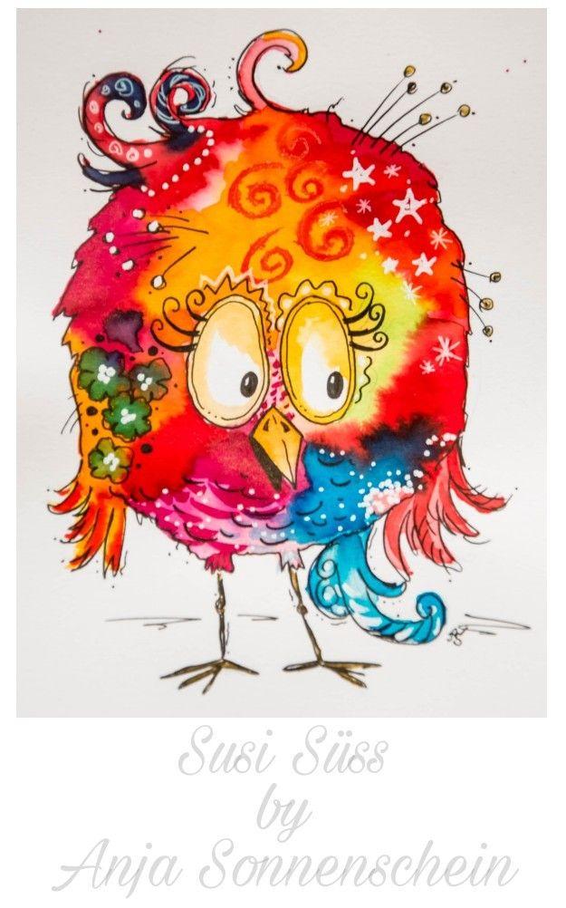 Susi Süss #colorfulcrazyworld  By Anja Sonnenschein inspiriert von Clarissa Hag…