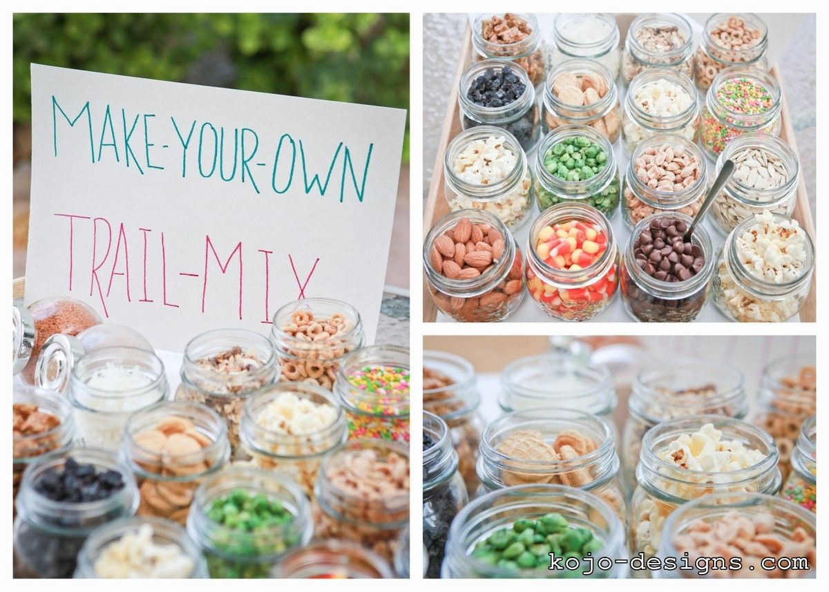 make your own trail mix buffet | baby shower | Pinterest | Trail mix ...