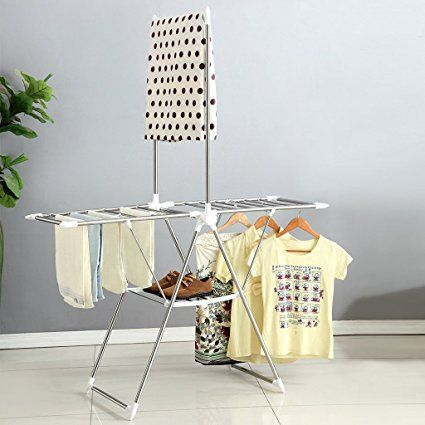Amazon Drying Rack Amazon Langria Heavy Duty Clothes Drying Rack For Laundry