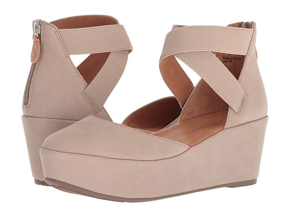 Gentle Souls by Kenneth Cole NYSSA PLATFORM WEDGE WITH ELASTIC ANKLE...