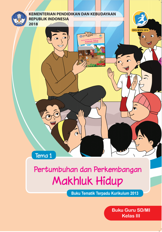 Kelas Iii Tema 1 Kur 2013 Revisi 2018 Bg Pdf Google Drive Buku Kurikulum Guru