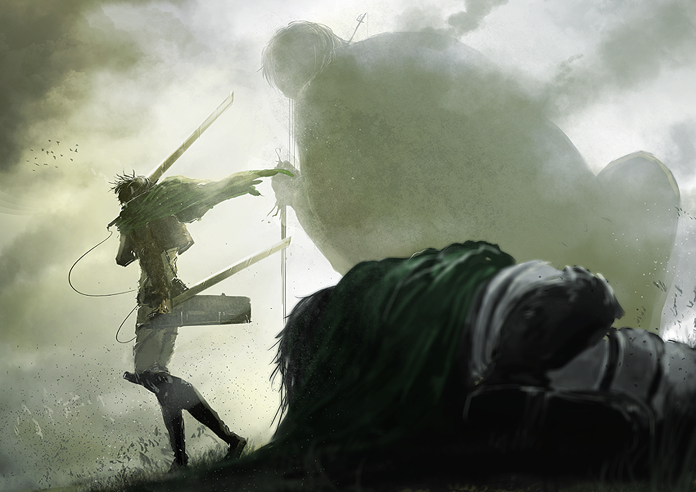 Levi Ackerman Computer Wallpapers Desktop Backgrounds 1366x967 Id 665358 Attack On Titan Anime Attack On Titan Levi Attack On Titan