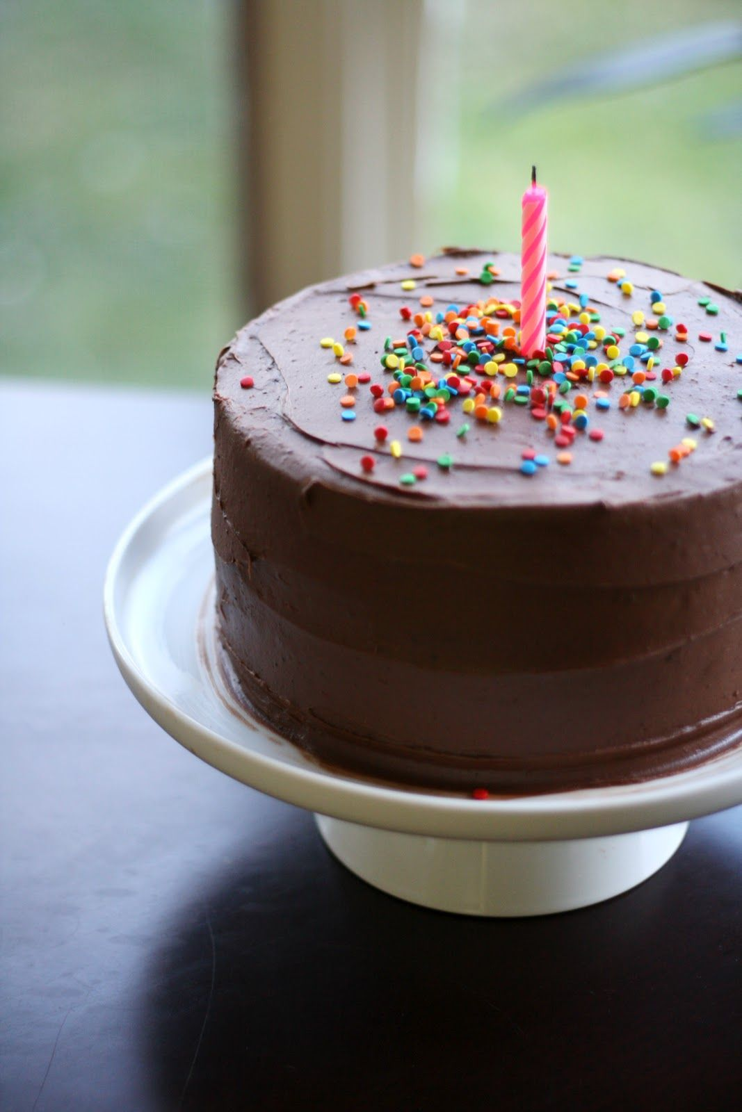 Classic, simple birthday cake. | Cake designs birthday ...
