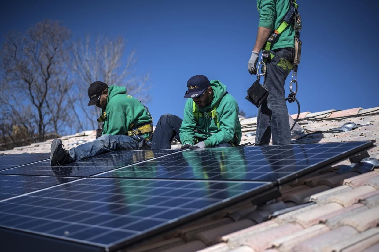 U S Solar Surged 95 To Become Largest Source Of New Energy Solar Panels Solar Best Solar Panels