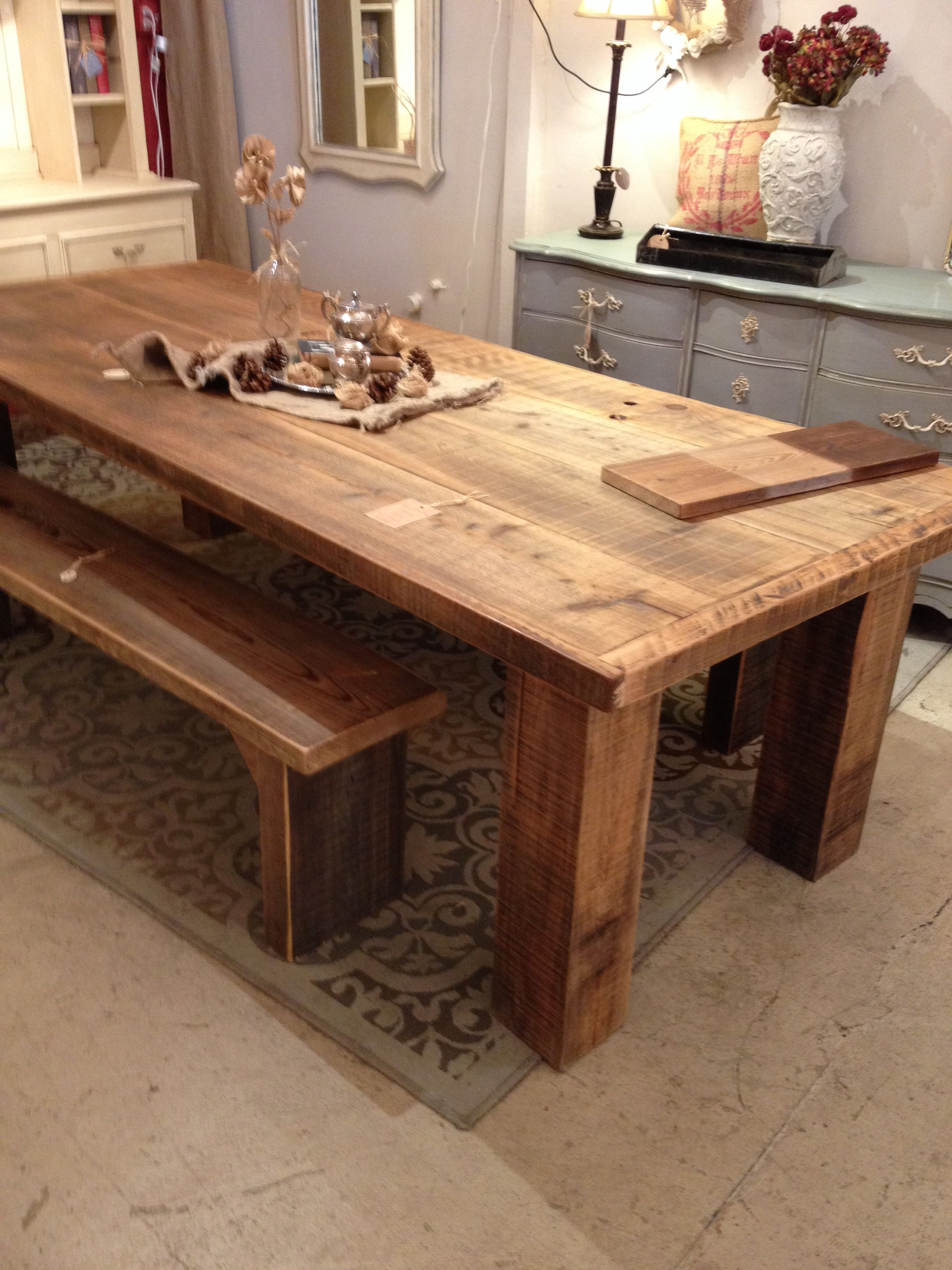 Summer House Cedar Plank Table Plank Table Table Dining Table