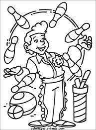 coloriage cirque recherche dessin cirque