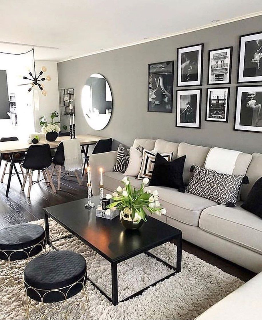 New Home Decor Design   strickendesign.com in 20   Small living ...