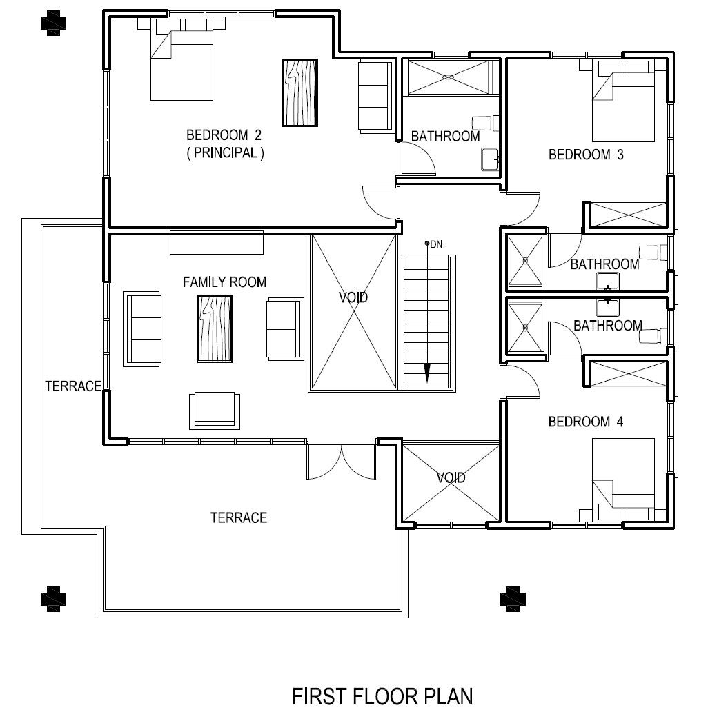 The Perfect House Plan tropical home design ground floor plan | ide buat rumah