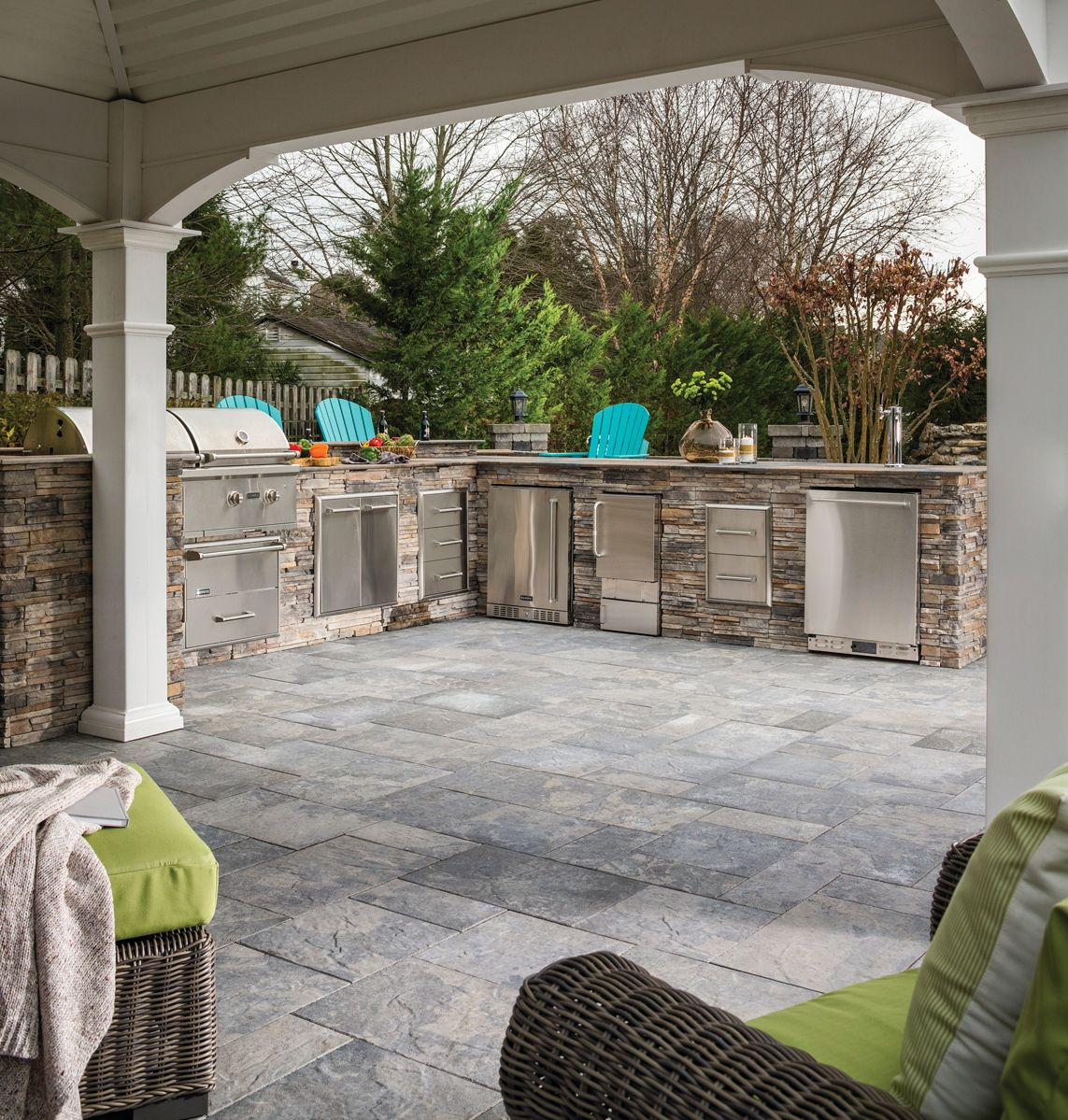 Find Out What S Cooking In The Latest Outdoor Kitchen Design Trends Outdoor Kitchen Design Outdoor Kitchen Outdoor Living Blog