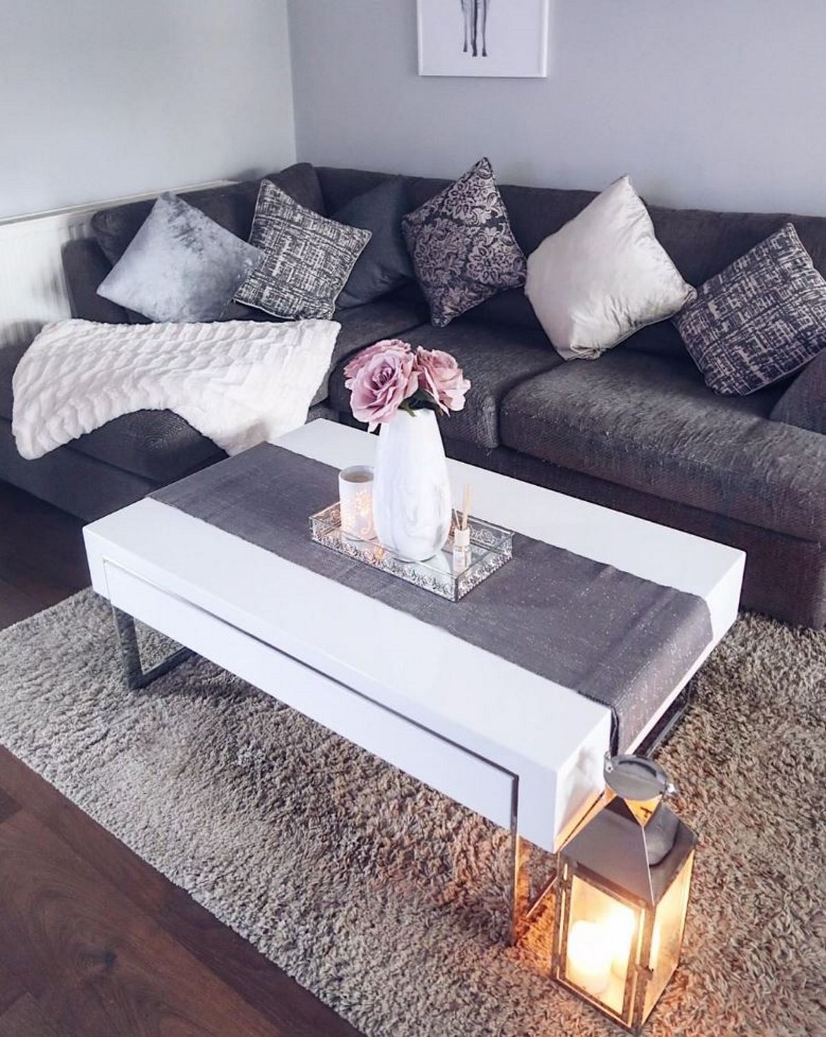 Instagram Cantillionhome Evoque White High Gloss Coffee Table