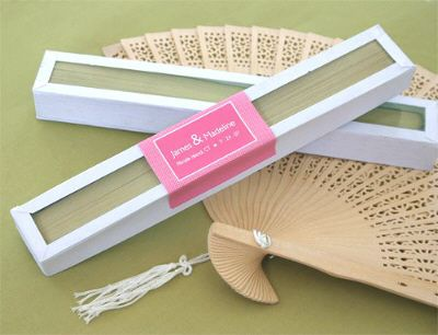 Sandalwood Fan In Gl Top White Box Wedding Favors Www Accenttheparty 1 19