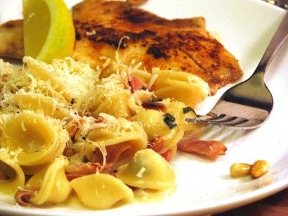 Pasta with Prosciutto-Sage Cream Sauce | Tasty Kitchen: A Happy Recipe Community!