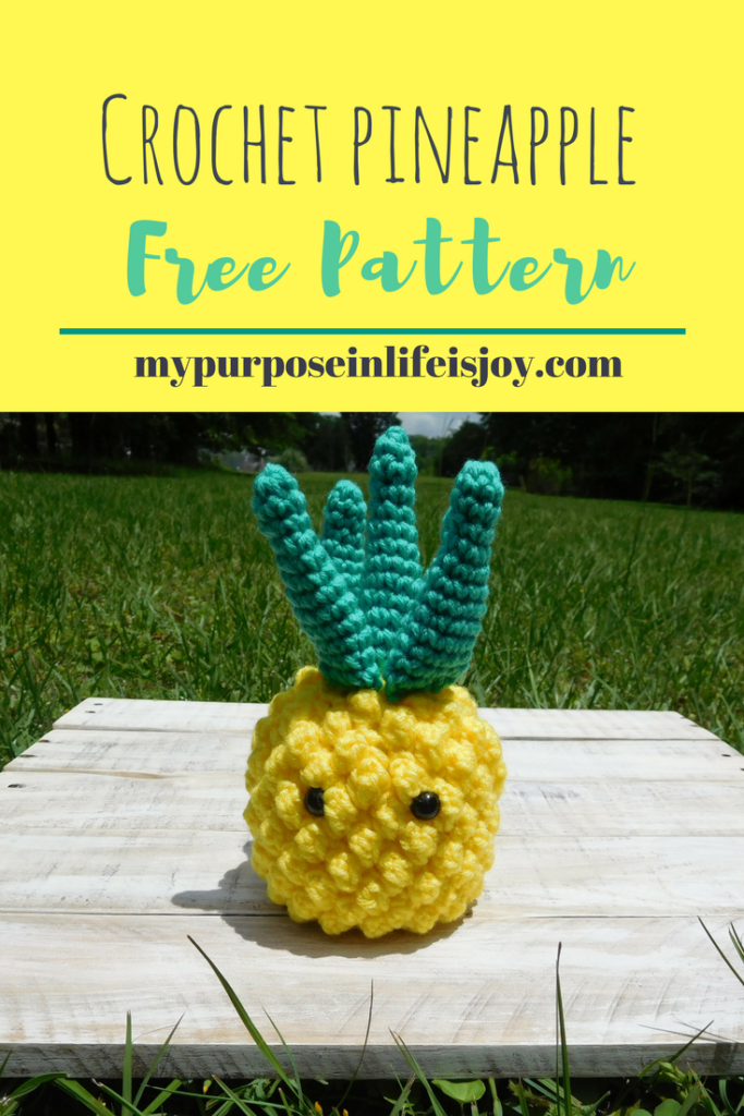 Crochet Pineapple Free Pattern With Step By Step Instructions