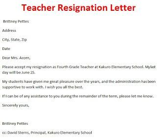 Pin By Joko On Business Templates Pinterest Resignation Letter
