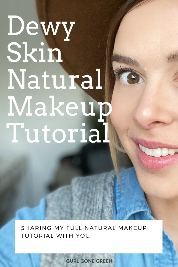 Natural Dewy Skin Makeup Tutorial in 2020 Natural makeup