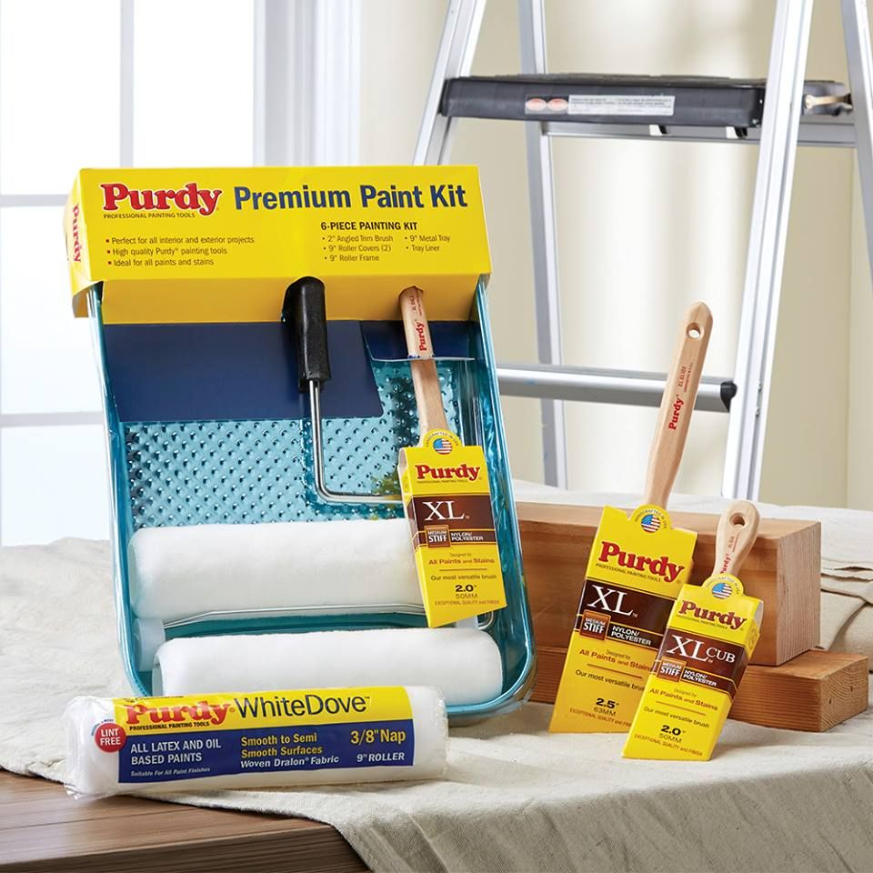 Start Your Project With Savings 20 Off All Purdy Paint Rollers Brushes Premium Paint Paint Kit Paint Roller