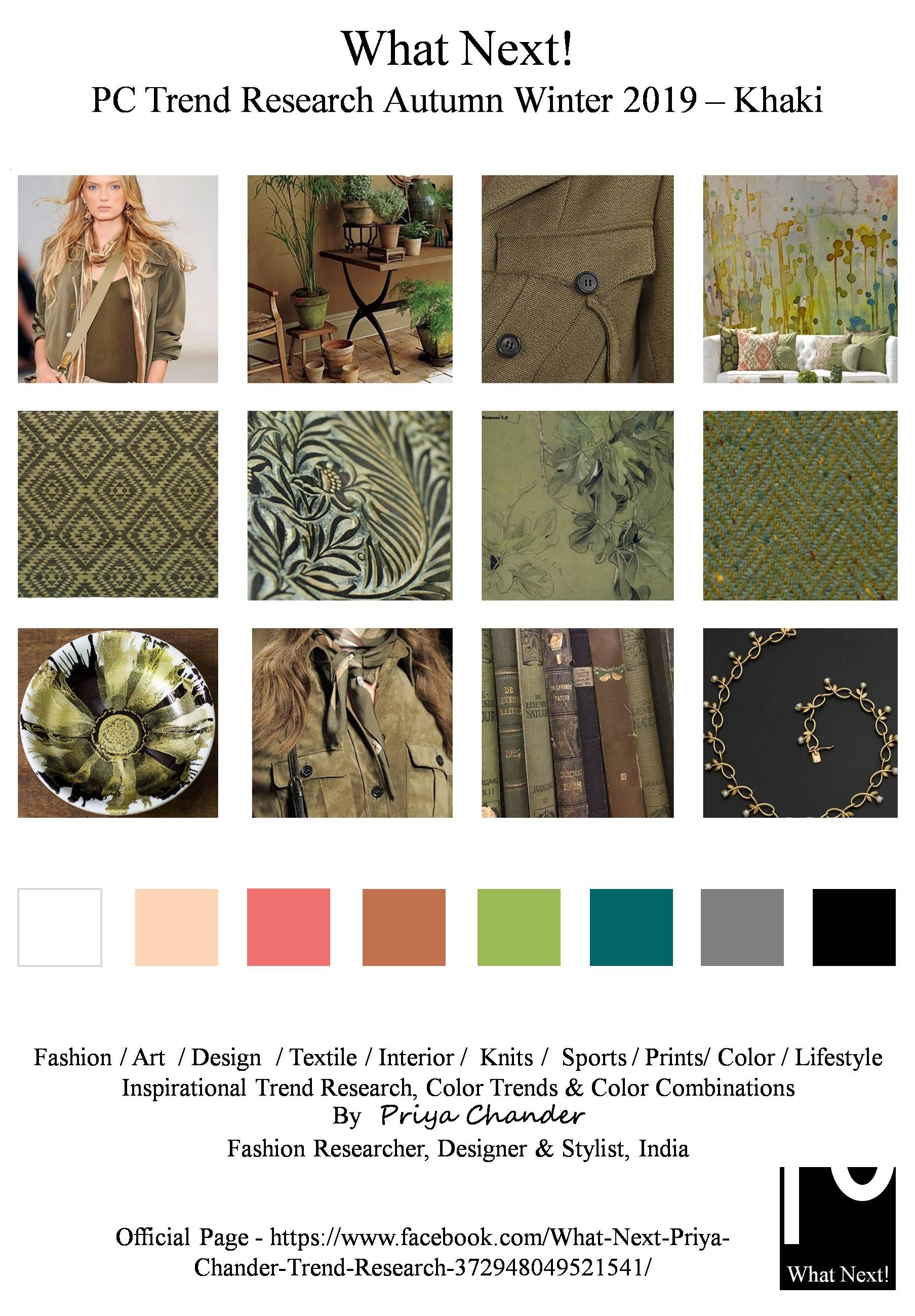 S/S 219 fashion colors trends: khaki | Trends SS 2019 in ...