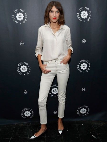 Weiße Jeans im Winter? Her damit! in 2019 | Frühlingsmode ...