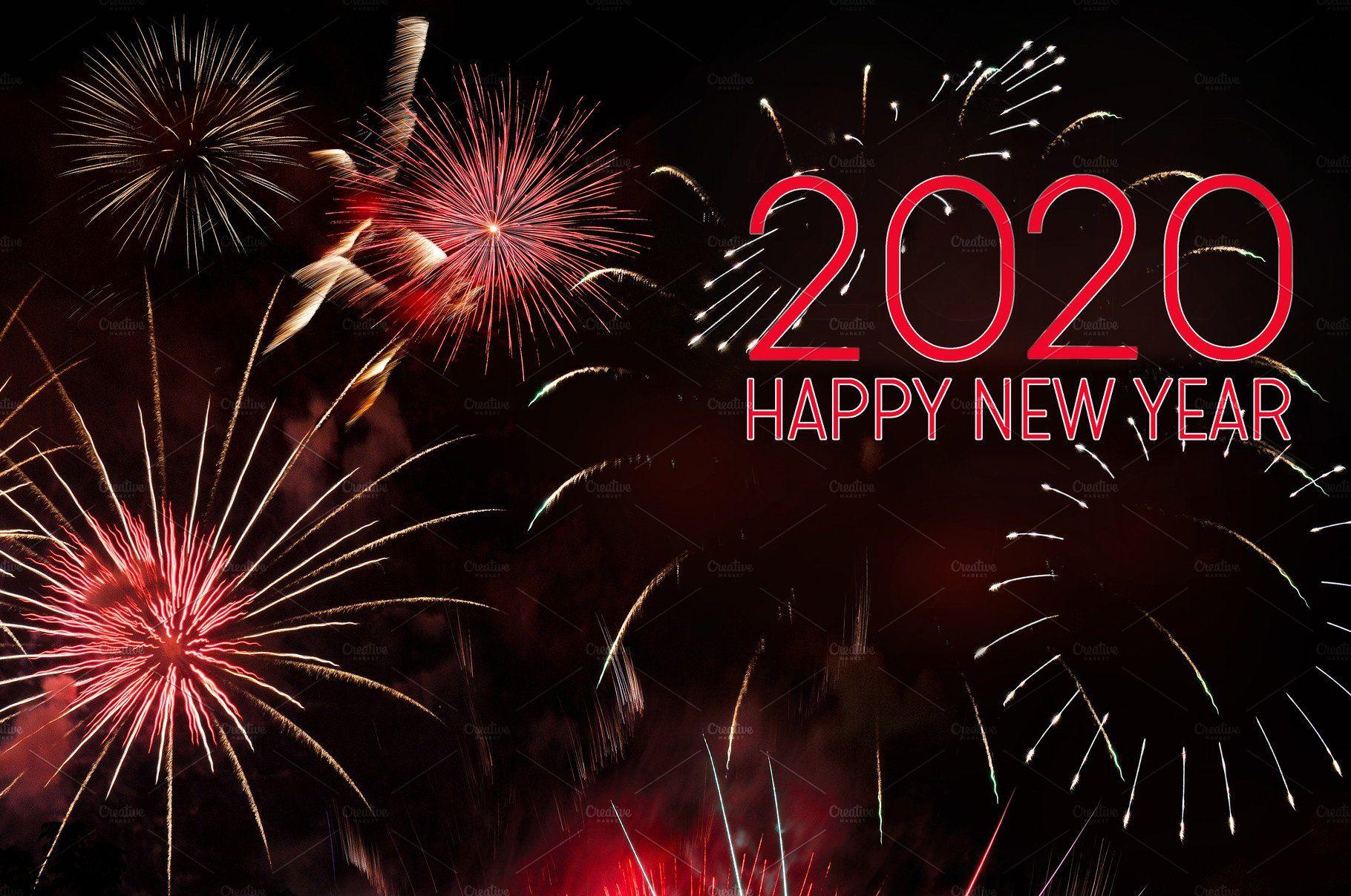 New year 2020 greeting card (มีรูปภาพ)