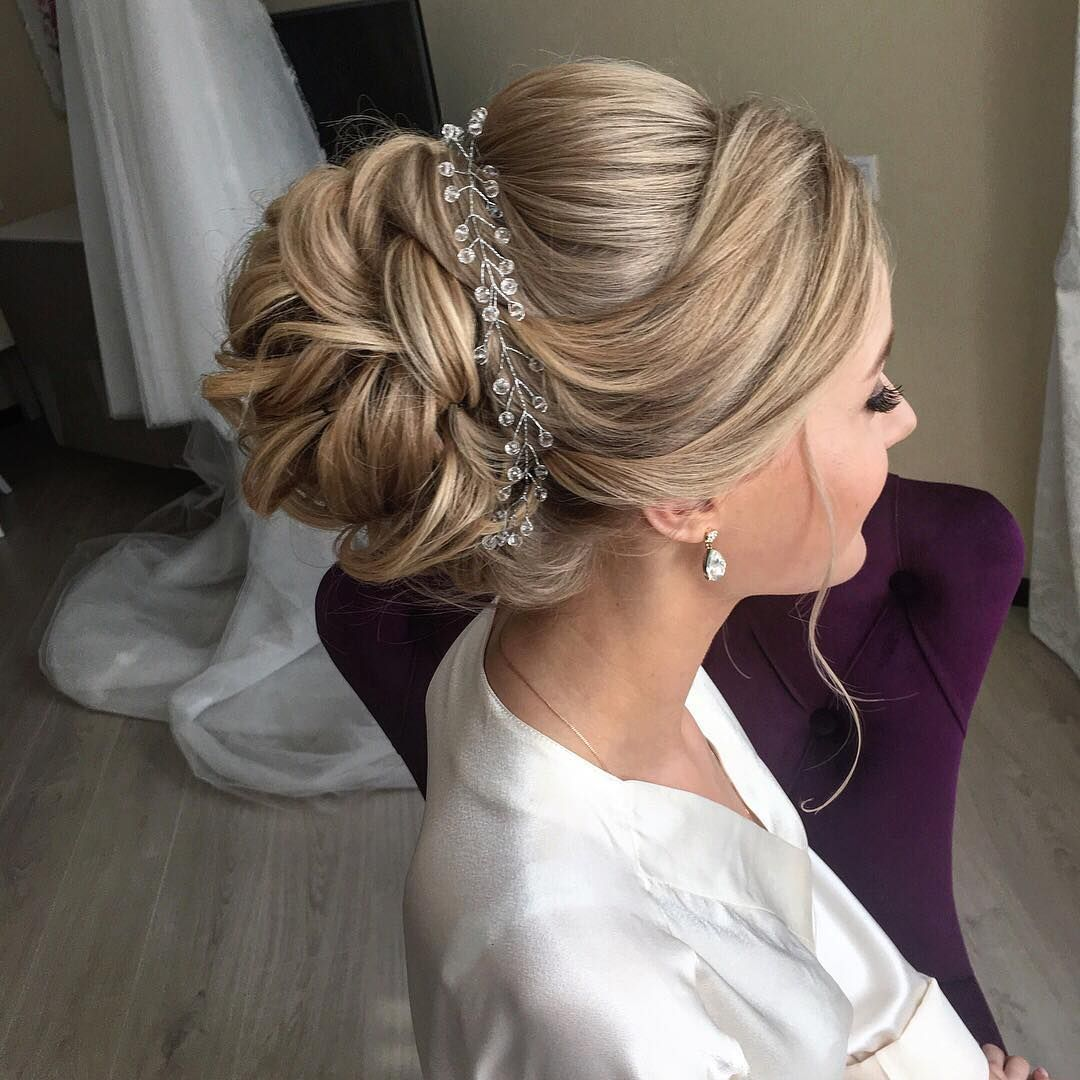 Style Hair For Wedding: Beautiful Wedding Hairstyles For Long Hair