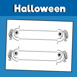 Halloween Spider Printable Bracelet Pictures Halloween