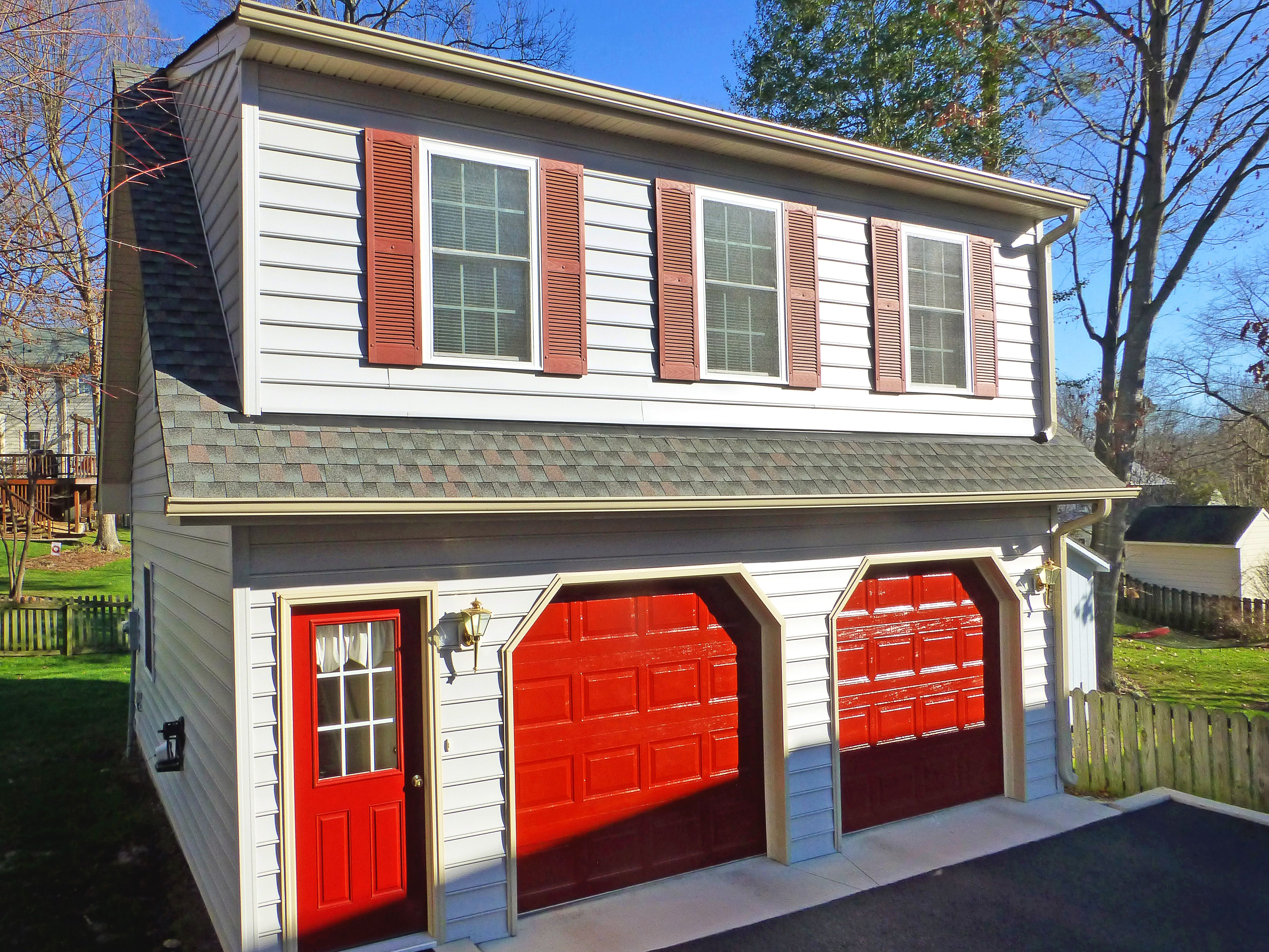 with car two jgdevelopment siding board pin door home cement com garage